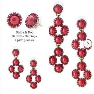 Stella & Dot- Sardina chandelier earrings